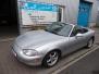 Mazda Mx 5 1.6 NB, dec 1999, 117.000 km, .....VERKOCHT